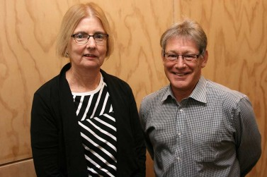 Associate Professor Deborah Read, Professor Barry Borman